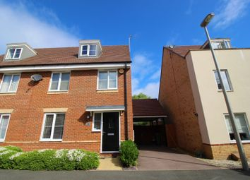 Thumbnail 4 bed semi-detached house for sale in Grenada Crescent, Milton Keynes