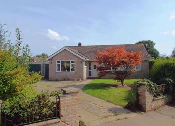 Thumbnail 3 bed bungalow for sale in Little Plumstead, Norwich, Norfolk