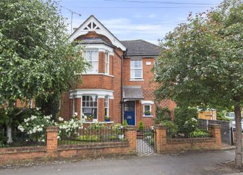 Thumbnail 4 bed detached house for sale in St. Albans Avenue, Weybridge, Surrey