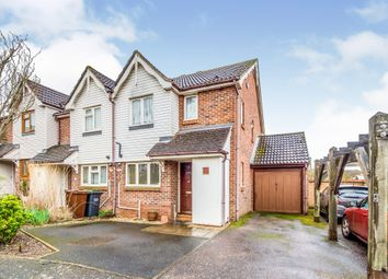 Thumbnail 3 bed end terrace house for sale in Middle Mill Road, East Malling, West Malling