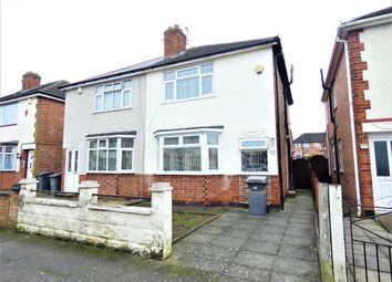Thumbnail 3 bed semi-detached house for sale in Redcar Road, Belgrave, Leicester