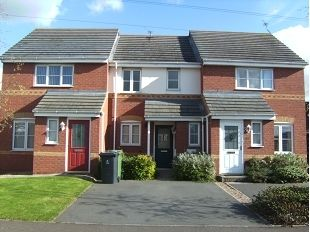 Thumbnail 2 bed terraced house to rent in Upton Drive, Nuneaton, Warwickshire