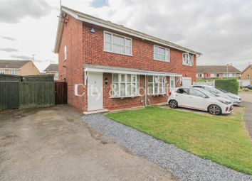Thumbnail 2 bed semi-detached house for sale in Weatherthorn, Orton Malborne, Peterborough