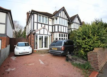 Thumbnail 3 bed semi-detached house for sale in Stockingstone Road, Luton