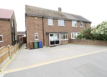 Thumbnail 3 bed semi-detached house to rent in Stour Road, Chadwell St. Mary, Grays