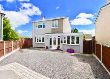 Thumbnail 3 bed detached house for sale in Roe Buck Estate, Llanfachraeth, Holyhead