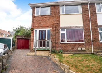 Thumbnail 3 bed semi-detached house for sale in Cauby Close, Sileby, Loughborough, Leicestershire