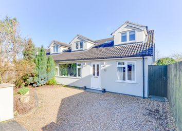 Thumbnail 4 bed semi-detached house for sale in Nightingale Avenue, Bassingbourn, Royston