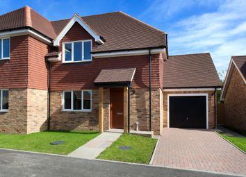 Thumbnail 3 bed semi-detached house for sale in Swan Close, Ashington
