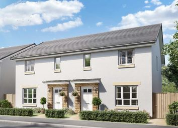 """Thumbnail 3 bedroom semi-detached house for sale in """"Traquair"""" at Boreland Avenue, Kirkcaldy"""