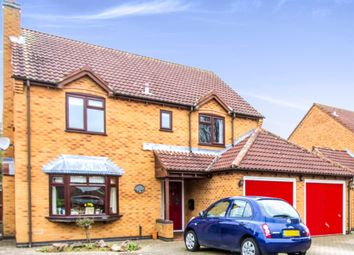 Thumbnail 4 bed detached house for sale in Borrowcup Close, Countesthorpe, Leicester