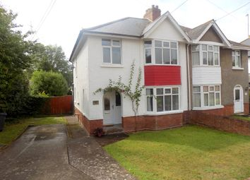 Thumbnail 3 bed semi-detached house for sale in St Johns Road, Exmouth, Devon