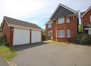 Thumbnail 4 bed detached house for sale in Mercers Meadow, Coventry