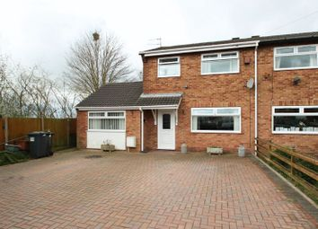 Thumbnail 4 bedroom semi-detached house for sale in Tawney Close, Kidsgrove, Stoke-On-Trent