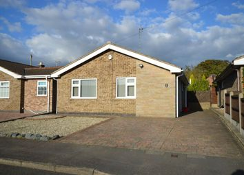 Thumbnail 2 bed detached house for sale in Holcombe Close, Whitwick, Coalville