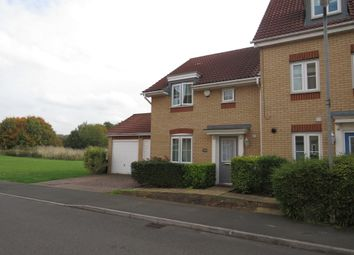 Thumbnail 3 bed end terrace house for sale in Abbots Way, Kettering