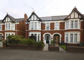 Thumbnail 3 bed property for sale in Axminster Road, Roath, Cardiff