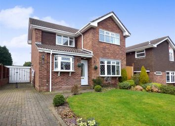 Thumbnail 3 bedroom detached house for sale in Jasmine Close, Stoke-On-Trent, Staffordshire