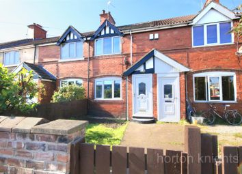 Thumbnail 3 bed terraced house for sale in Norman Crescent, New Rossington, Doncaster