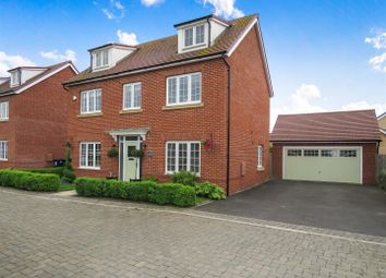 Thumbnail 5 bed detached house for sale in Field Gate Close, St. Neots