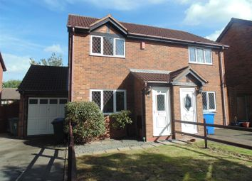 Thumbnail 2 bed semi-detached house to rent in Parkside, Wilnecote, Tamworth