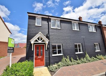 Thumbnail 2 bed end terrace house for sale in Hadleigh Street, Bridgefield