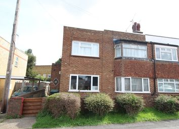 Thumbnail 2 bed flat for sale in Wycliffe Row, Northfleet, Gravesend