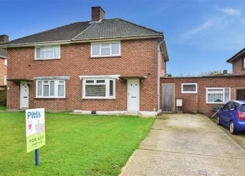 Thumbnail 2 bed semi-detached house for sale in Pan Close, Newport, Isle Of Wight
