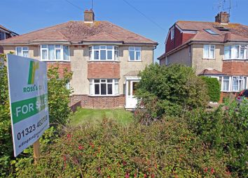 Thumbnail 3 bedroom semi-detached house for sale in Coppice Avenue, Willingdon, Eastbourne