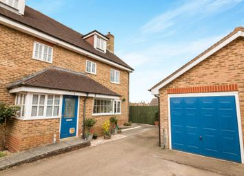 Thumbnail 4 bed semi-detached house for sale in Barley View, North Waltham, Basingstoke