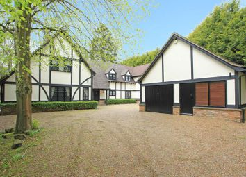 Thumbnail 5 bed detached house to rent in Finch Lane, Knotty Green, Beaconsfield