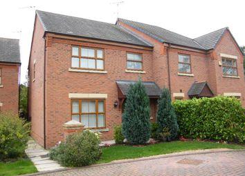Thumbnail 3 bed semi-detached house for sale in Meadowbank Drive, Little Sutton, Ellesmere Port