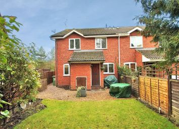 Thumbnail 2 bed end terrace house to rent in Hexham Close, Owlsmoor, Sandhurst, Berkshire