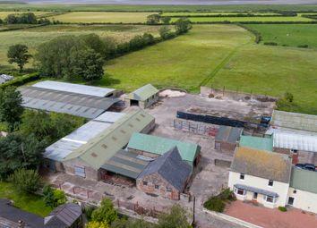 Thumbnail 3 bed farmhouse for sale in West Farm, Newton Arlosh, Wigton, Cumbria