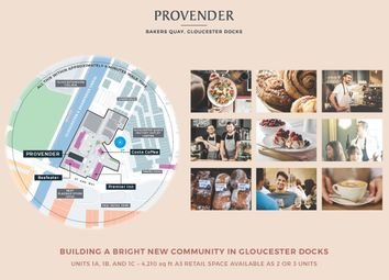 Thumbnail Restaurant/cafe to let in Provender Warehouse, Bakers Quay, Gloucester Docks, Gloucester