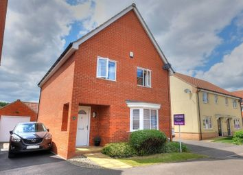 Thumbnail 4 bed detached house for sale in Foxhouse Road, Norwich