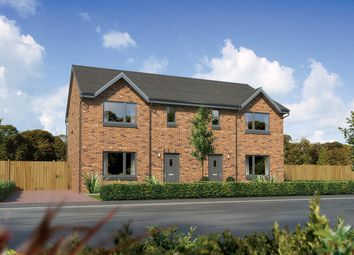 "Thumbnail 3 bed semi-detached house for sale in ""Caplewood"" at Countesswells Park Place, Countesswells, Aberdeen"