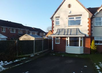 Thumbnail 3 bed property to rent in Bowlers Close, Stoke-On-Trent