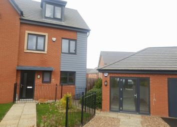 Thumbnail 3 bed semi-detached house to rent in Caraway Drive, Shirebrook, Mansfield