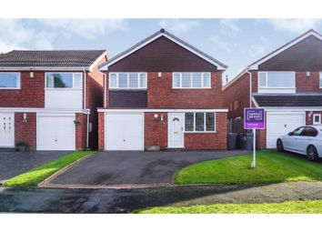 Thumbnail 3 bed detached house for sale in Henley Close, Sutton Coldfield