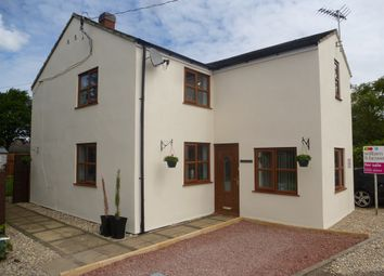 Thumbnail 4 bedroom semi-detached house for sale in Kirkgate, Tydd St. Giles, Wisbech