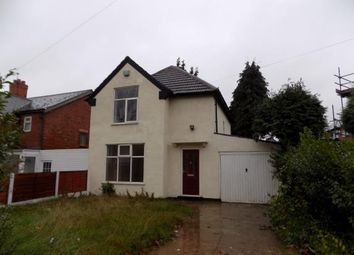 Thumbnail 3 bedroom detached house for sale in Chaucer Road, Walsall, West Midlands