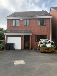 Thumbnail 4 bed detached house to rent in Moorcroft Road, Birmingham