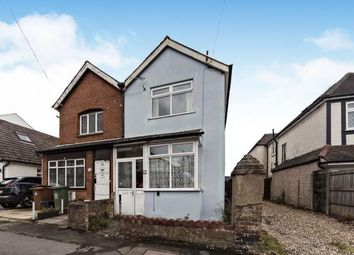 Thumbnail 2 bedroom semi-detached house for sale in Elmbrook Road, Cheam, Sutton, Surrey