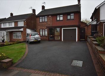 Thumbnail 3 bed detached house for sale in Wakerley Road, Leicester