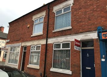 Thumbnail 2 bed terraced house for sale in Moat Road, North Evington, Leicester