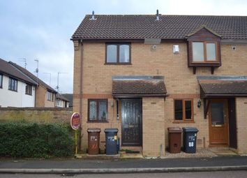 Thumbnail 2 bed end terrace house to rent in Woodpecker Way, East Hunsbury, Northampton