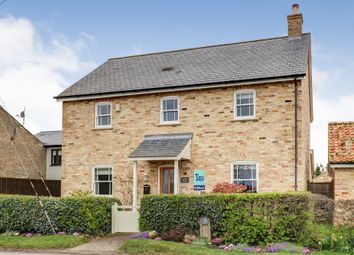Thumbnail 4 bed detached house for sale in The Lane, Old Hurst, Huntingdon