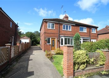 Thumbnail 3 bed semi-detached house for sale in Grove Lea Crescent, Pontefract, West Yorkshire