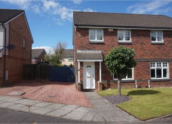Thumbnail 3 bed semi-detached house for sale in Streamfield Place, Glasgow
